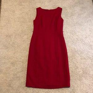Talbots red dress. Size 2